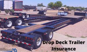 Drop Deck Trailer Insurance