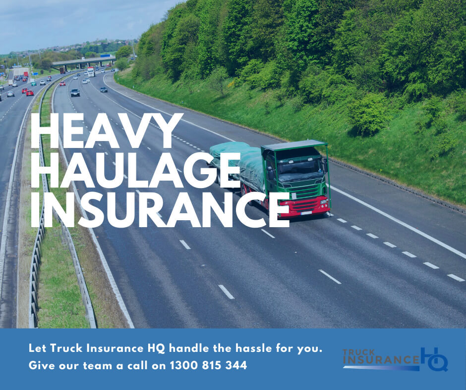 Heavy Haulage Insurance