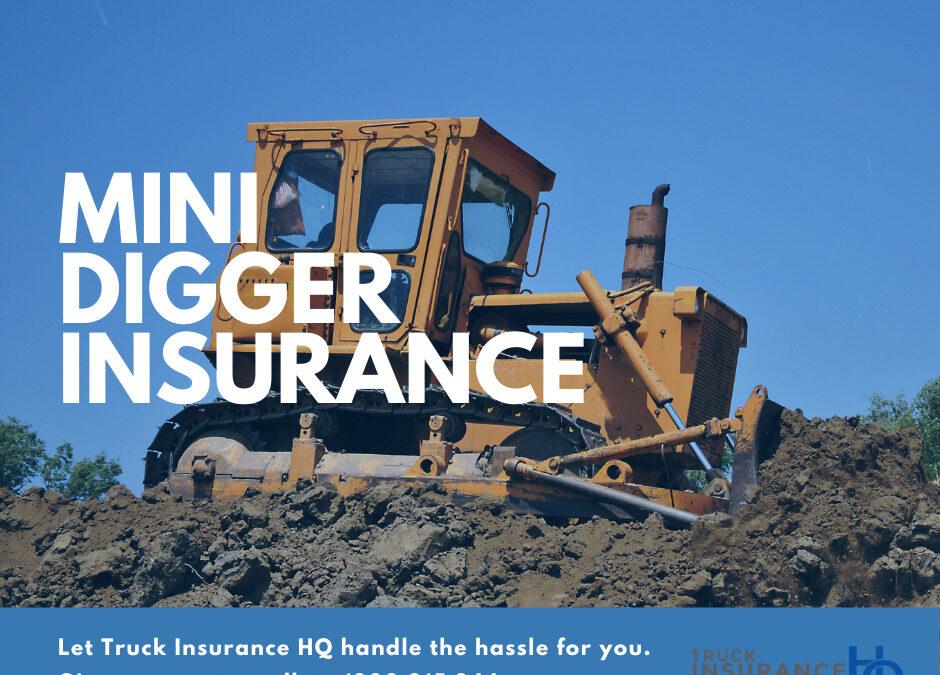Mini Digger Insurance