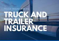 truck and trailer insurance