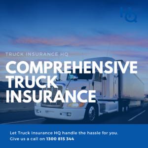 Comprehensive Truck Insurance