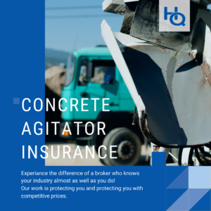 Concrete Agitator Insurance