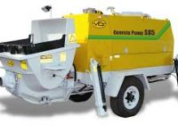 Concrete Pumping Trailer
