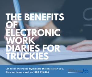 the benefits of electronic work diaries for truckers