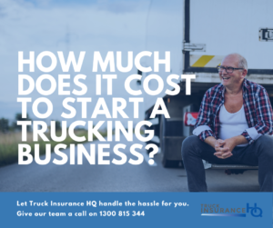 How much does it cost to start a trucking business?